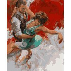 Живопись по номерам Танго, 40x50, Paintboy, GX8643