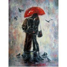 Живопись по номерам Музыка дождя, 40x50, Paintboy, GX4099