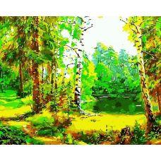 Живопись по номерам Лесная сказка, 40x50, Paintboy, GX7202