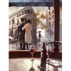 Живопись по номерам Кафе Винс, 40x50, Paintboy, GX7570