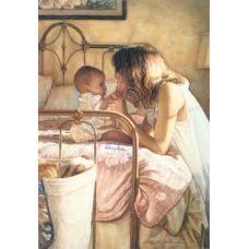 Живопись по номерам Мать и дитя, 40x50, Paintboy, GX3420