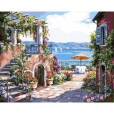 Живопись по номерам Тосканская терраса, 40x50, Paintboy, GX7174