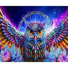 Живопись по номерам Совиная магия, 40x50, Paintboy, OTG6131