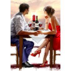 Живопись по номерам Закат в Валентинов день, 40x50, Paintboy, GX8000