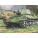 Живопись по номерам Танки в бою, 30x40, Hobruk, HS2004