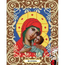 Канва с рисунком Богородица Корсунская, 20x25, Божья коровка