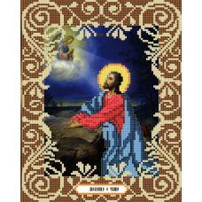 Канва с рисунком Моление о чаше, 20x25, Божья коровка