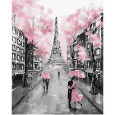 Живопись по номерам Гламурный Париж, 40x50, Paintboy, GX22055