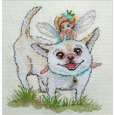 Набор для вышивания крестом Фея счастья, 14x15, НеоКрафт