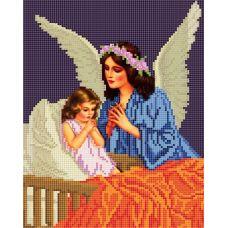 Канва с рисунком Ангел, 20x25, Божья коровка