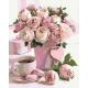 Живопись по номерам Натюрморт с розами, 40x50, Hobruk, U8054