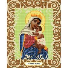 Канва с рисунком Богородица Отчаянных Единая Надежда, 20x25, Божья коровка