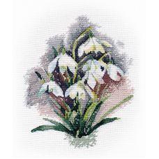 Набор для вышивания крестом Галантусы, 17x21, Овен
