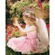 Живопись по номерам Маленький ангел, 40x50, Hobruk, U8004