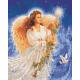 Живопись по номерам Ангел Рождества, 40x50, Hobruk, U8028