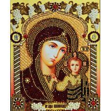 Набор для вышивания хрустальными камнями Богородица Казанская, 23,5x30,5, Хрустальные Грани
