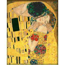 Мозаика стразами Поцелуй, 40x50, полная выкладка, Алмазная живопись
