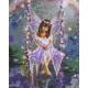 Живопись по номерам Маленькая фея, 40x50, Hobruk, U8023