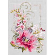 Набор для вышивания крестом Счастливого марта, 15x21, Чудесная игла