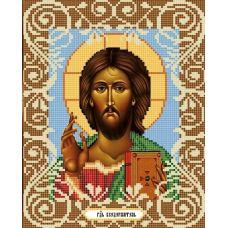 Канва с рисунком Господь Вседержитель, 20x25, Божья коровка