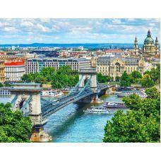 Живопись по номерам Мост в Будапеште, 40x50, Paintboy, GX28006