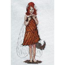 Набор для вышивания крестом Рыжуля, 10x19, НеоКрафт