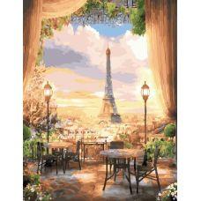 Живопись по номерам Парижское кафе, 40x50, Paintboy, GX22529