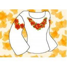 Набор элементов для вышивания на сорочке, водорастворимый флизелин КБФ-06, Каролинка