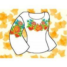 Набор элементов для вышивания на сорочке, водорастворимый флизелин КБФ-05, Каролинка