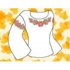 Набор элементов для вышивания на сорочке, водорастворимый флизелин КБФ-04, Каролинка