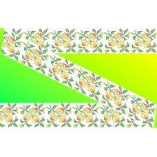 Декор. Рисунок на водорастворимом флизелине КФО-011, 5x40 см, Каролинка