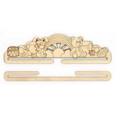 Декоративный подвес для вышивки Игрушки, 23x6,5, Щепка (МП-Студия)