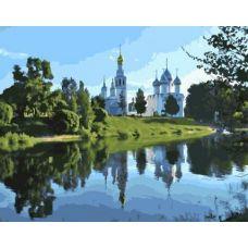 Живопись на холсте Софийский собор в Вологде, 40x50, Paintboy, GX21073
