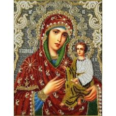 Набор для вышивания Тихвинская БМ, 19x24, Вышиваем бисером