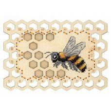 Набор для вышивания крестом Органайзер Пчела, 13x19, Щепка (МП-Студия)