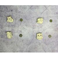 Набор держателей для игл №2, 3x2,8, Щепка (МП-Студия)