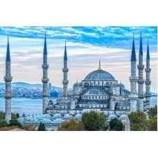 Живопись по номерам Голубая мечеть. Стамбул, 40x50, Paintboy, GX33935
