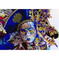 Схема Принт для вышивки бисером Венецианский карнавал, 29x41, Вышиваем бисером