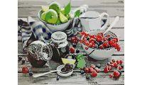 Живопись на холсте Варенье и ягоды, 40x50, Paintboy, GX3646
