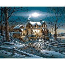 Живопись по номерам Рождество, 40x50, Paintboy, GX26665
