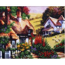 Набор для вышивания бисером Сказочный пейзаж 2, 42x33, Магия канвы