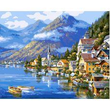 Живопись на холсте Хальштадт. Австрия, 40x50, Paintboy, GX6936
