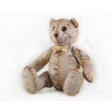 Набор для шитья Винтажный Мишка, 24,5см, Перловка