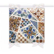 Набор для вышивания крестом Подушка Мозаика, 40x40, Риолис, Сотвори сама