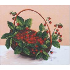 Набор для вышивания бисером Лесная ягода, 36,5x31,5, Магия канвы