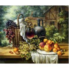 Живопись по номерам Натюрморт с фруктами, 40x50, Paintboy, GX33888