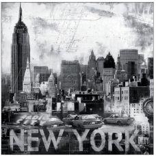 Наволочка шелковистая Нью Йорк, 39x39, Матренин Посад