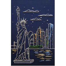 Набор для вышивания бисером Нью-Йорк, 30x20, МП-Студия