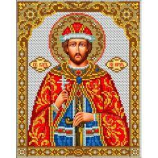 Набор для вышивания Святой Игорь, 20x25,5, Вышиваем бисером