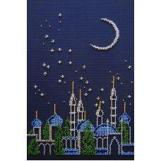 Набор для вышивания бисером Багдад, 30x20, МП-Студия